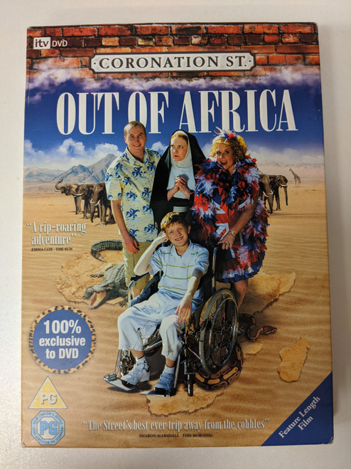 Coronation Street: Out Of Africa - 2008 - ITV Studios DVD - GD