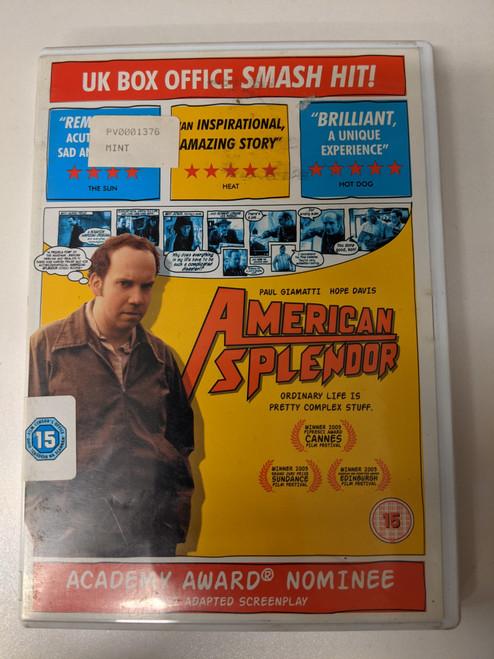 American Splendor - 2004 - Optimum Home Releasing DVD - GD