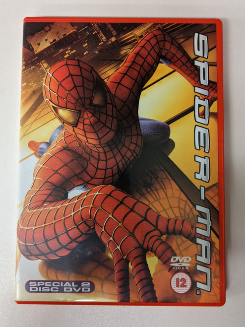 Spiderman - 2002 - Sony Pictures DVD - GD