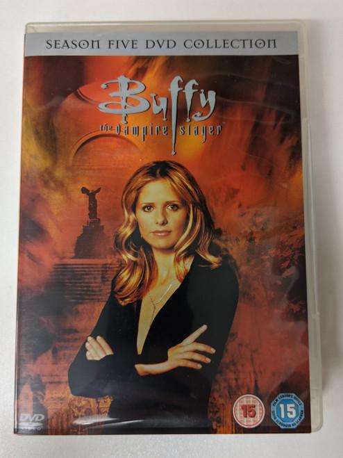 Buffy The Vampire Slayer: Season Five DVD Collection - 2006 - Twentieth Century Fox - GD