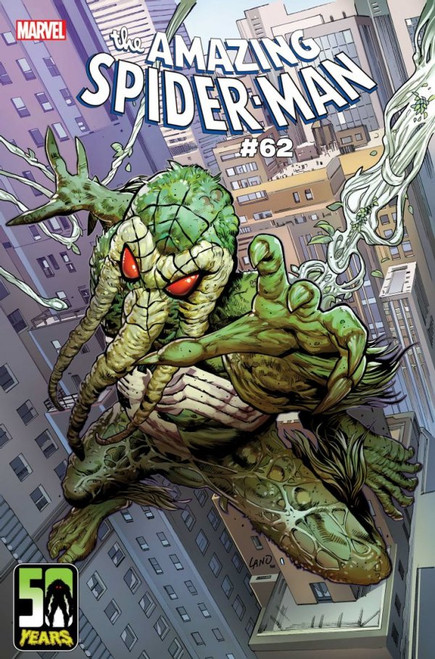Amazing Spiderman #62 - (Greg Land Spider-Man-Thing Variant) Marvel Comic - 24/3/21