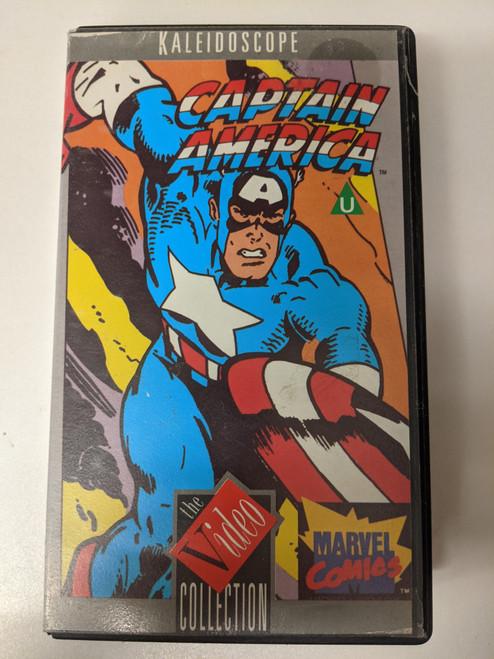 Captain America Animated Series - 1985 - Kaleidoscope VHS - GD