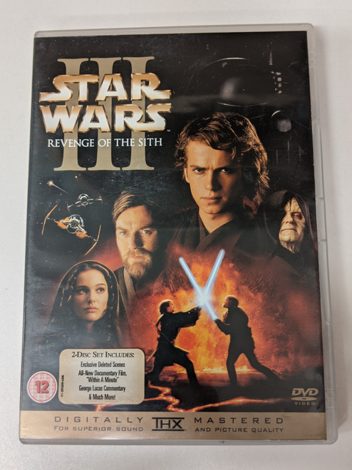 Star Wars Episode III: Revenge Of The Sith - 2005 - Twentieth Century Fox - GD