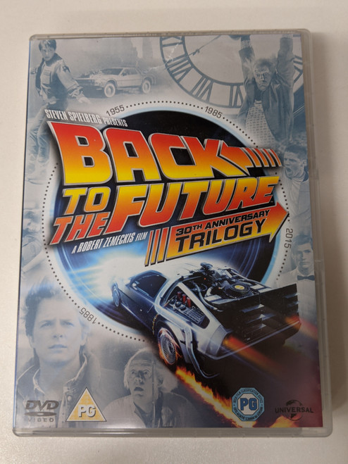 Back To The Future: 30th Anniversary Trilogy - 2015 - Universal Pictures - GD