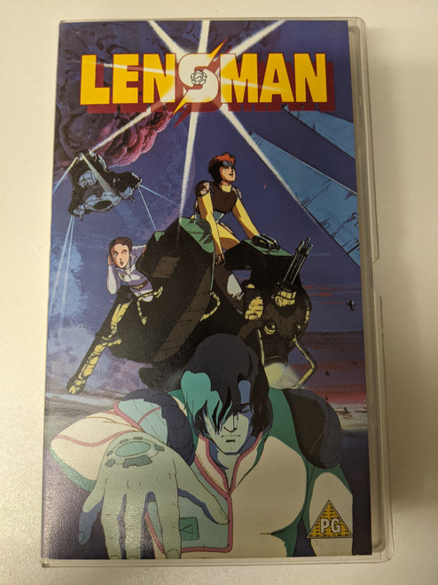 Lensman - 1999 - Manga Entertainment VHS - GD