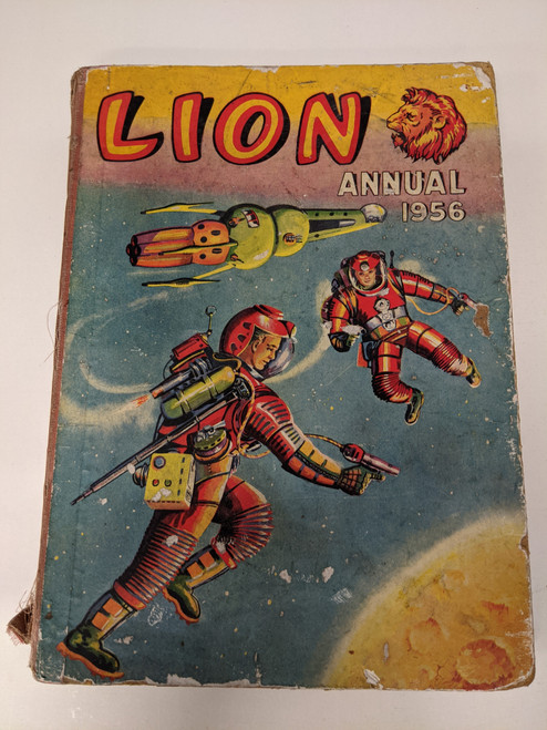 Lion Annual - 1956 - The Amalgamated Press - FR
