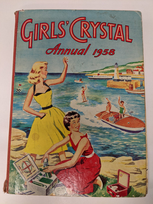 Girl's Crystal Annual - 1958 - The Amalgamated Press - FR