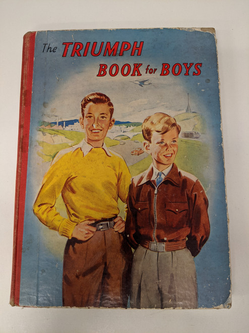 The Triumph Book For Boys - 1950 - Thames Publishing Co. - GD