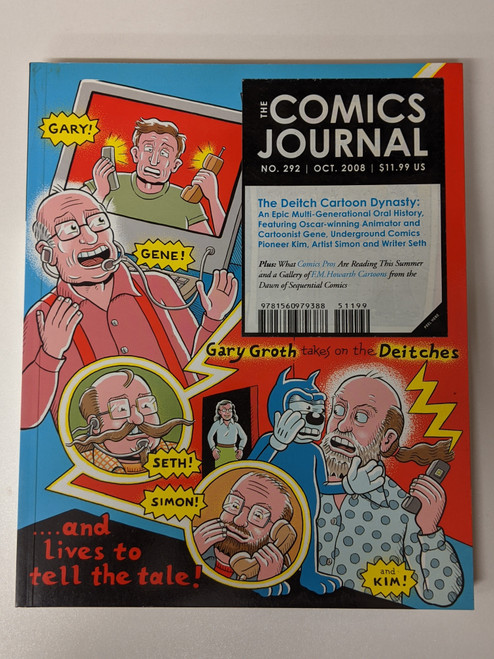 The Comics Journal #292 - 2008 - Fantagraphics - VG