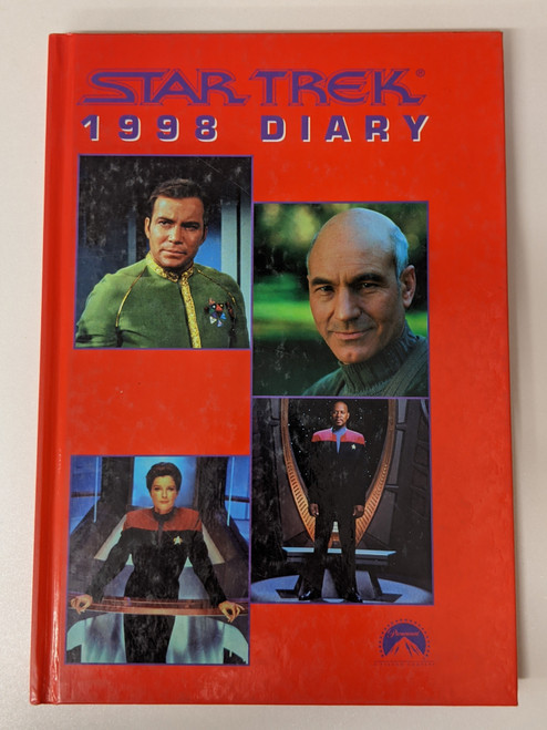 Star Trek 1998 Diary - 1998 - Pocket Books - VG