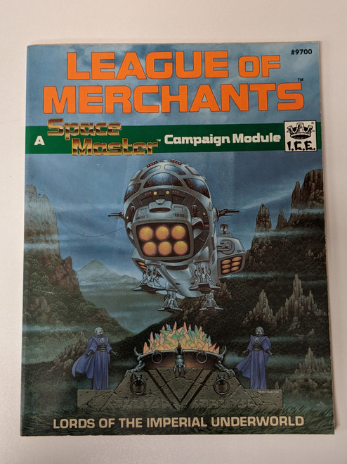 League Of Merchants: A Space Master Campaign Module: Lords Of The Imperial Underworld - 1988 - IEC - VG