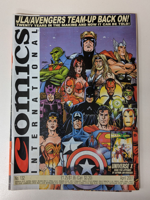 Comics International #132 - 2001 - Quality Communications - VG