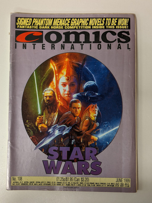 Comics International #108 - 1999 - Quality Communications - VG