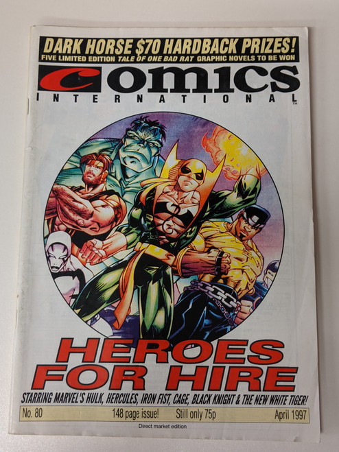 Comics International #80 - 1997 - Quality Communications - VG