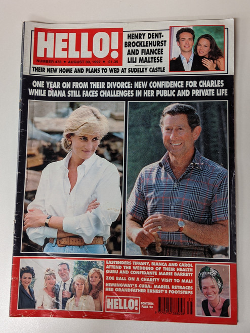 Hello! Magazine #473 - 1997 - Hello Ltd - VG