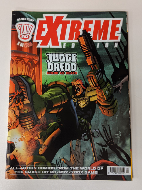 2000 AD Extreme Edition #1 - 2003 - Rebellion Developments - VG