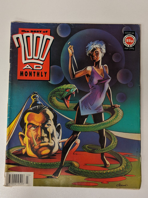 The Best Of 2000 AD Monthly #66 - 1991 - IPC - GD