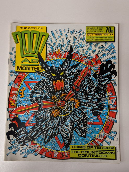 The Best Of 2000 AD Monthly #37- 1988 - IPC - VG
