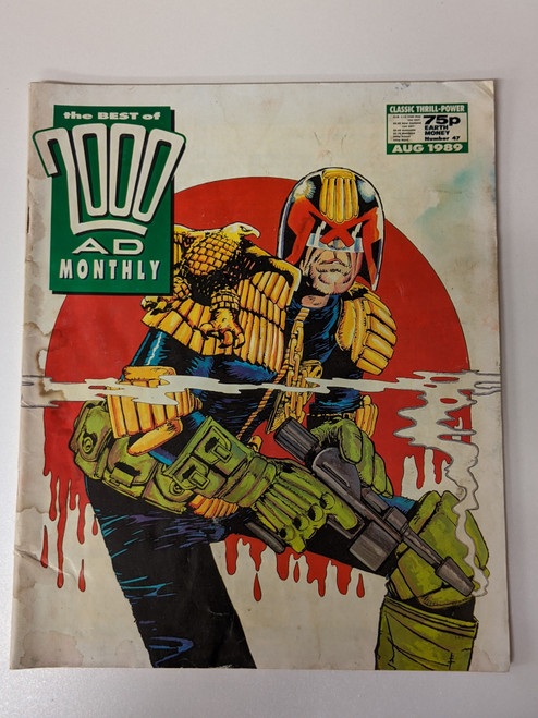 The Best Of 2000 AD Monthly #47- 1989 - IPC - PR