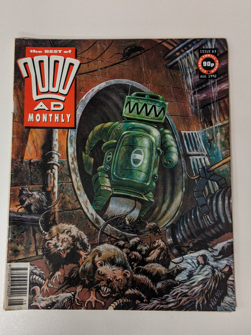 The Best Of 2000 AD Monthly #83- 1992 - IPC - VG