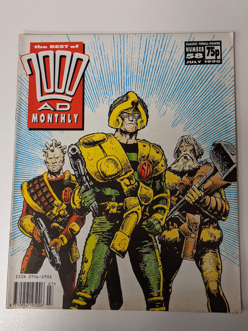 The Best Of 2000 AD Monthly #53- 1990 - IPC - VG