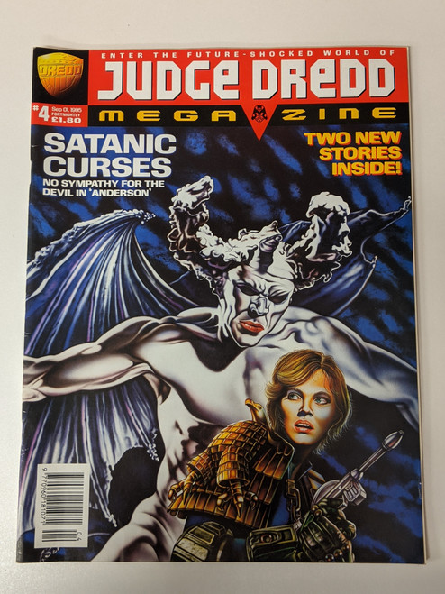 Judge Dredd Megazine #4 - 1990 - Rebellion Developments - VG