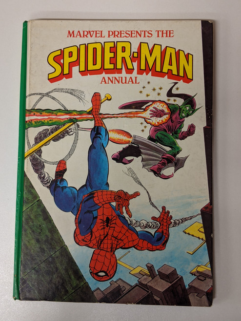 Spiderman Annual - 1980 - Marvel Grandreams - VG
