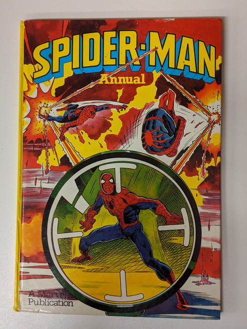 Spiderman Annual - 1984 - Marvel Grandreams - VG
