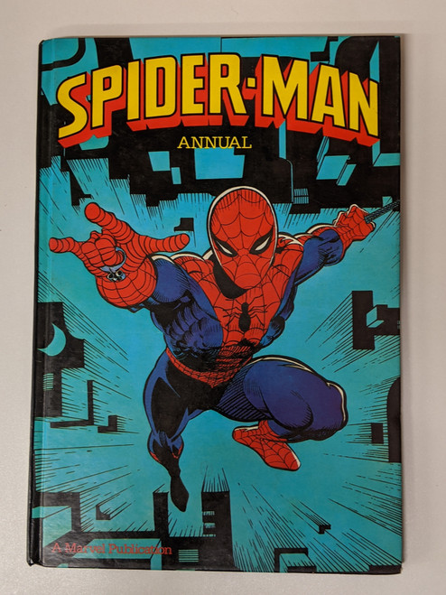 Spiderman Annual - 1983 - Marvel Grandreams - VG