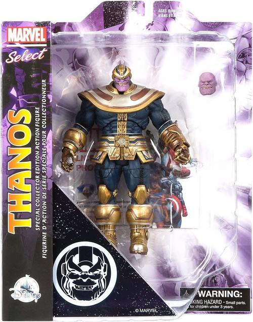 Thanos Action Figure - Marvel Select - Avengers: Infinity War