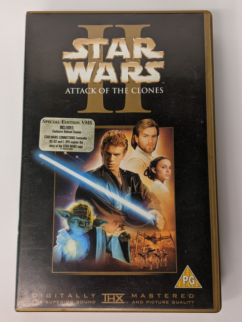 Star Wars Episode II: Attack Of The Clones - 2002 - 20th Century Fox - GD