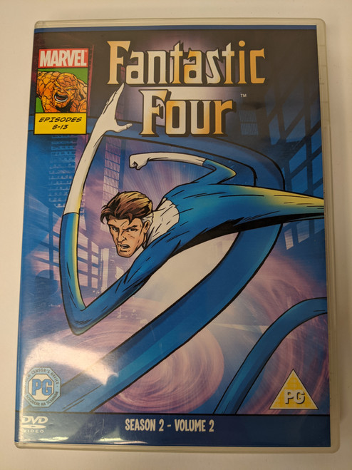 Fantastic Four: Season 2 - Volume 2 - 2009 - Clear Vision Ltd - GD