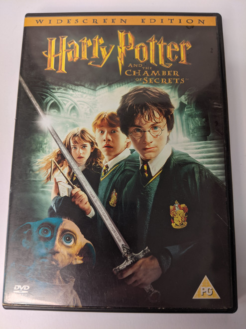 Harry Potter And The Chamber Of Secrets - 2002 - Warner Home Video - GD