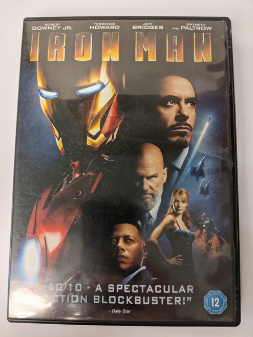Iron Man - 2008 - Paramount Home Entertainment - GD