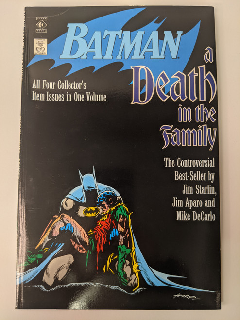 Batman: A Death In The Family - 1988 - DC Paperback - VG