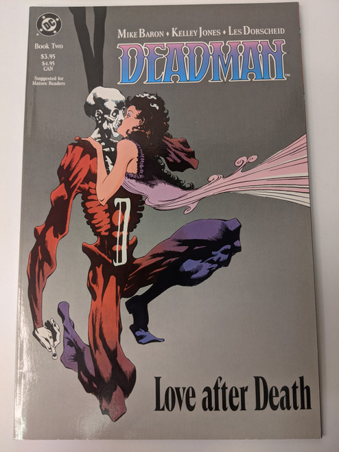 Deadman: Love After Death Book Two - 1989 - DC Paperback - VG