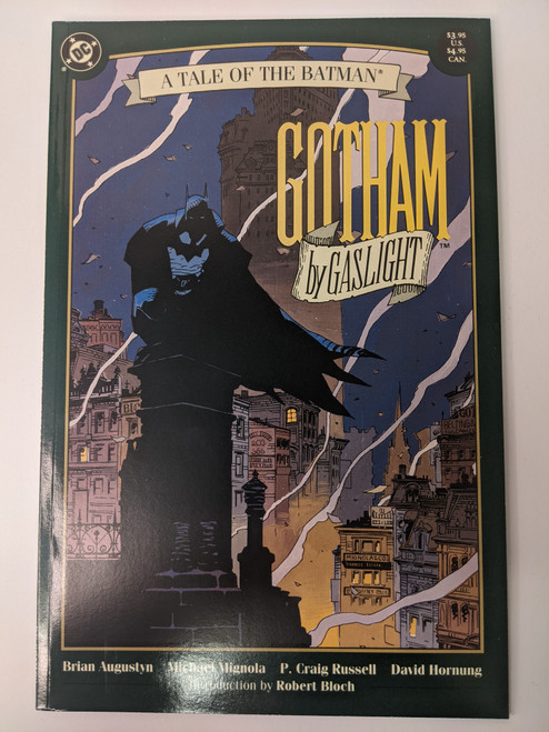 Batman: Gotham By Gaslight - 1989 - DC Paperback - VG