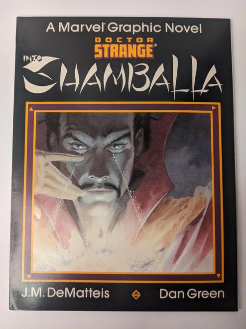 Doctor Strange: Into Shamballa - 1986 - Marvel Paperback - VG