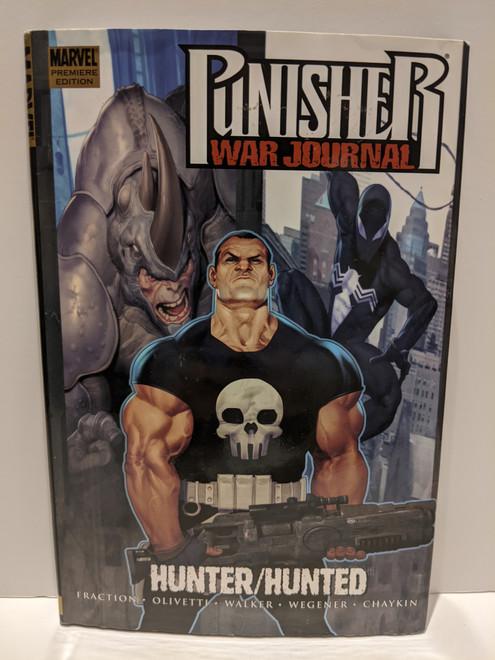 Punisher War Journal: Hunter/Hunted - 2008 - Marvel Hardback - FN