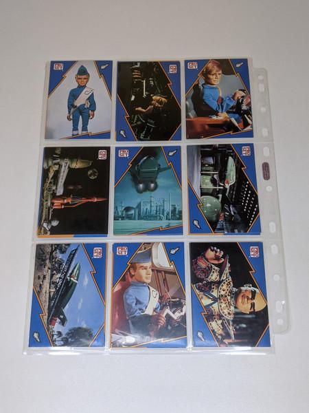Thunderbirds Cards Inc/Carlton Media cards - 2001 - 27 Card Bundle - VG