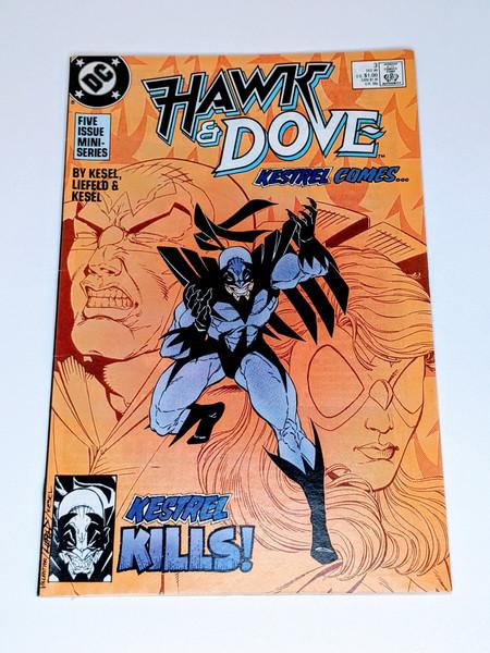 Hawk & Dove Kestrel Comes - 1988 - DC Comic - VG