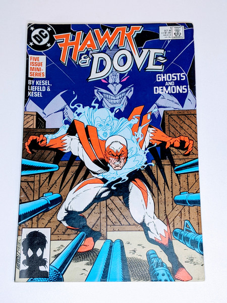 Hawk & Dove Mini-Series #1 - 1988 - DC Comic - VG