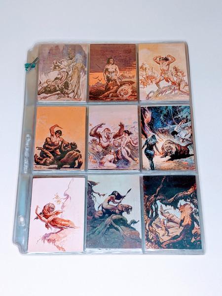 Frazetta II Comic Images Cards - 1993 - 41 Card Bundle - VG