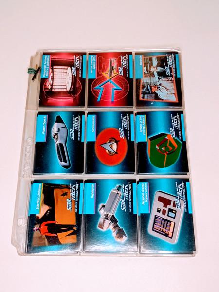 Star Trek The Next Generation Impel Cards - 1992 - 32 Card Bundle - VG