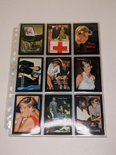 Princess Diana TCI Cards - 1997 - 55 Card Bundle - VG