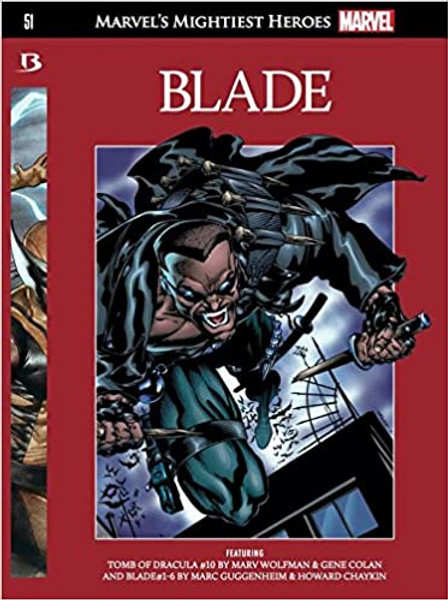 Blade -  2017 - Marvel's Mightiest Heroes Graphic Novel Collection