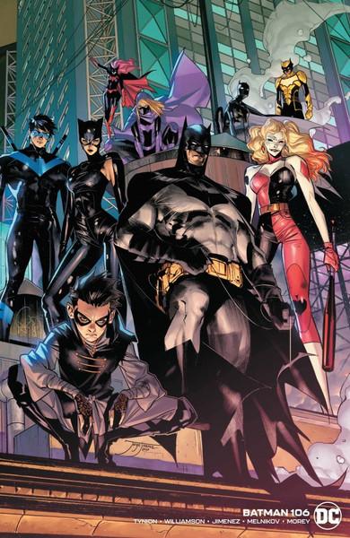 Batman #106 - Wraparound Variant Edition - 2021 - DC Comic