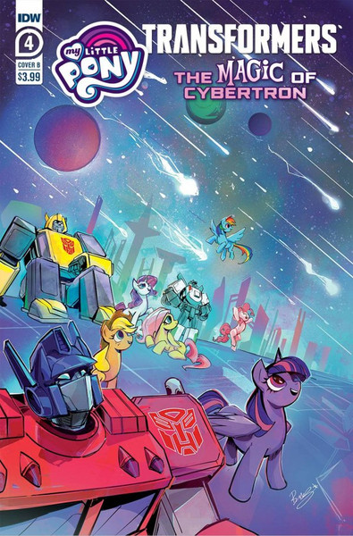 My Little Pony / Transformers: The Magic of Cybertron #4 - 28/07/21 - IDW Comic