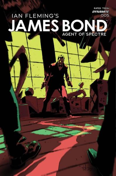 James Bond: Agent of Spectre #5 - 21/07/21 - Dynamite Comic