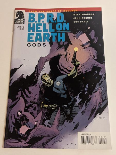 BPRD Hell On Earth - Gods - #3 - 2011 - Dark Horse Comic - FN